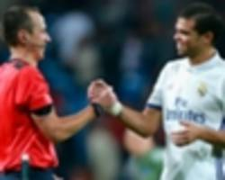 pepe: i want to retire at real madrid