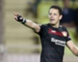 Was it a goal? Watch Chicharito's close call against Tottenham