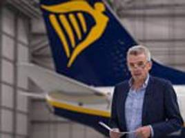 Ryanair cuts its profits forecast by 5% as it pays the price for the pound's plunge
