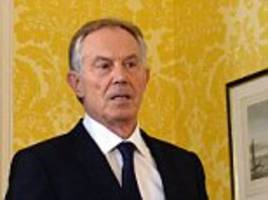 SEBASTIAN SHAKESPEARE: Now Blair is plotting new direction for charity empire after announcing two of his organisations are to be revamped