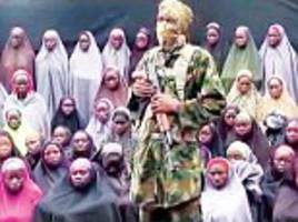 'we don't want to go back': 100 chibok schoolgirls refuse to leave their boko haram captors after two years in captivity