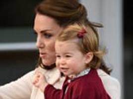 kate middleton reveals princess charlotte already has a love of horses
