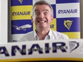 Ryanair's latest wheeze: Now passengers must pay £6 to check-in more than four days before a flight