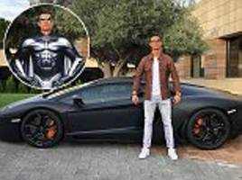 Cristiano Ronaldo trolled online after showing off luxurious £260,000 Lamborghini Aventador