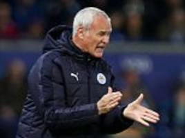 Leicester boss Claudio Ranieri 'proud and angry' as Copenhagen win puts Champions League knockouts within touching distance