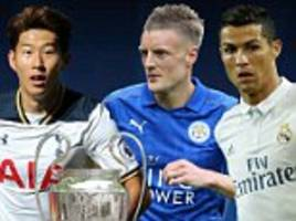 UEFA Champions League LIVE scores and results: Leicester, Real Madrid and more
