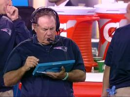 patriots coach bill belichick ranted for five minutes about why he's done using the nfl's official microsoft surface tablets (msft)