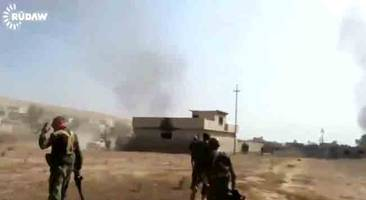 Dramatic First Person Footage Captures Intensity Of Fight For Mosul