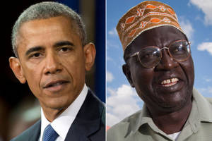 Trump Will Bring Obama's Half-Brother As His Guest To Tomorrow's Debate; Proposes Term Limits