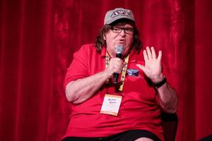 Michael Moore is screening a surprise Donald Trump film tonight in NYC