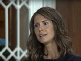 Syria's first lady Asma Al-Assad rejected 'multiple offers' to flee the war-torn country