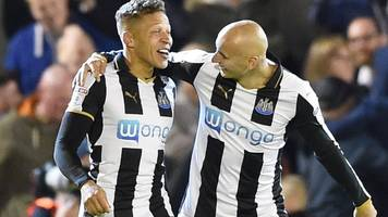gayle sends newcastle top of championship