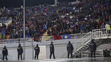 kosovo & croatia face fifa hearings over chants