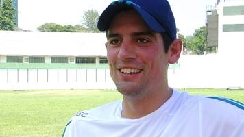 Bangladesh v England: Alastair Cook 'very proud' of appearance record
