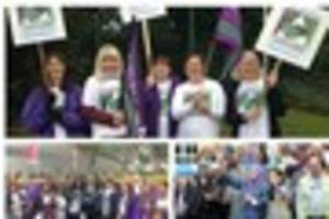 city council threatens police action threat for striking unison...
