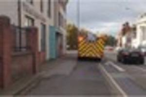 Toaster fire sees two fire engines called to flats in Burton