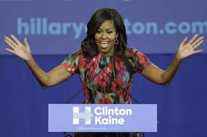 First Lady Michelle Obama emerges as surrogate MVP