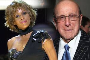 clive davis penned a heartbreaking letter to whitney houston begging her to get help