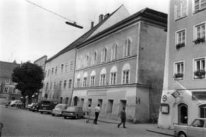 how can adolf hitler's birthplace become a shrine for many?