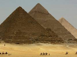 Scanning reveals two secret rooms in the Great Pyramid of Giza