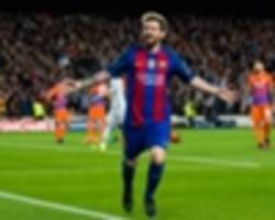 Messi becomes all-time top scorer at home in Champions League