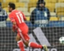 Dynamo Kiev 0-2 Benfica: Portuguese champions cruise to first group victory