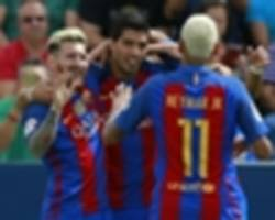 MSN in Manchester: The story behind City's pursuit of Messi, Neymar AND Suarez
