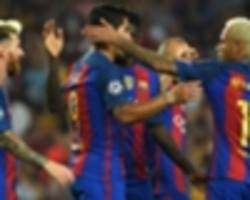 Messi, Neymar and Suarez will be too much for Pep's Man City - Mendieta