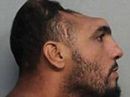 Half-headed Florida man charged with attempted murder after setting his mattress on fire