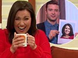 Susanna Reid left red-faced as Justin Timberlake calls her 'a super hot grandma'
