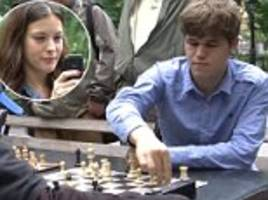 world's top chess grandmaster magnus carlsen goes incognito