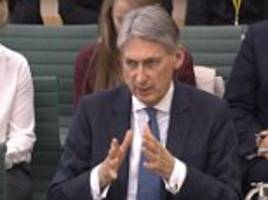 philip hammond suggests students should not be subject to curbs after brexit