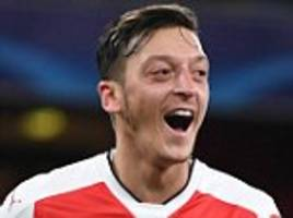 Arsenal 6-0 Ludogorets: Mesut Ozil nets hat-trick after Alexis Sanchez scores exquisite chip as Gunners cruise to victory