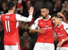Arsenal failing to sign Mesut Ozil and Alexis Sanchez on new deals would be a 'disaster' for the club, insists Roy Keane after six-goal thrashing of Ludogorets at the Emirates