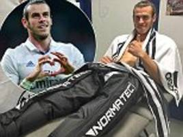 Gareth Bale uses recovery system to get back in the groove after scoring in Real Madrid's win over Legia Warsaw