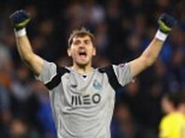 iker casillas sets new champions league win record... but cristiano ronaldo could overtake him