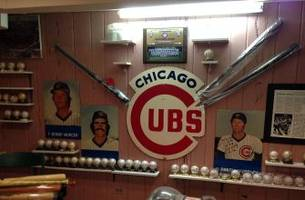 Watching NLCS Game 3 with-and getting stories from—the ultimate Cubs fan