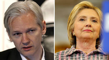 hillary clinton linked to mysterious front associated with julian assange pedophile smear