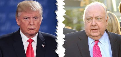 trump said to part way with long-time ally roger ailes
