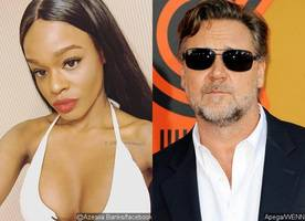 Azealia Banks Calls Russell Crowe 'Racist Pig,' Claims They Were Flirting Before Altercation