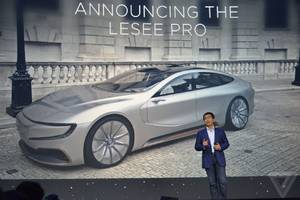 LeEco delays US unveiling of its self-driving LeSEE Pro because of an accident and Michael Bay