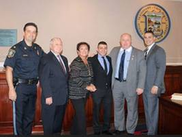 Two New Parsippany Police Officers Sworn In