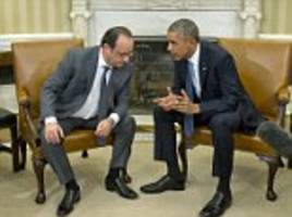 Francois Hollande suggests the rise of ISIS is Obama's fault