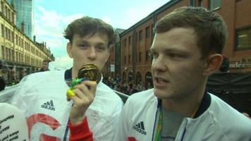 manchester olympic blaggers: we meant no harm and the athletes saw the fun in it