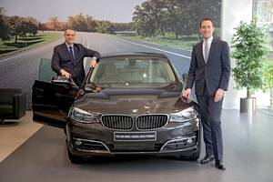 'be in good hands' with the bmw aftersales promise