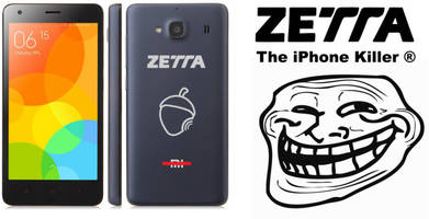 Spanish phonemaker Zetta is selling rebranded Xiaomi phones as its own 'iPhone killer'