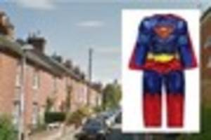 mystery over 'missing' three-year-old wearing superman costume in...