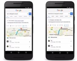 Google Search Makes Commuting Convenient and Easier