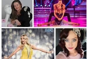 Business is simply dazzling for Paisley woman Kirsteen as her stunning tiaras add sparkle to Strictly Come Dancing