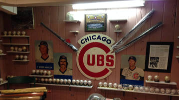 Watching NLCS Game 3 with—and getting stories from—the ultimate Cubs fan